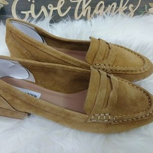 """STEVE MADDEN """"PAULETTE"""" LEATHER LOAFERS SIZE 9"""